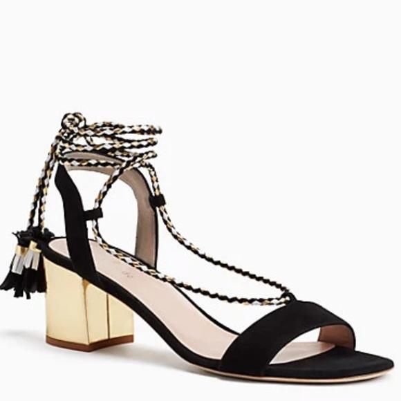 Kate spade ♠️ Manor lace up block heel sandals